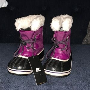 Sorel Children's Yoot Pac Nylon boots